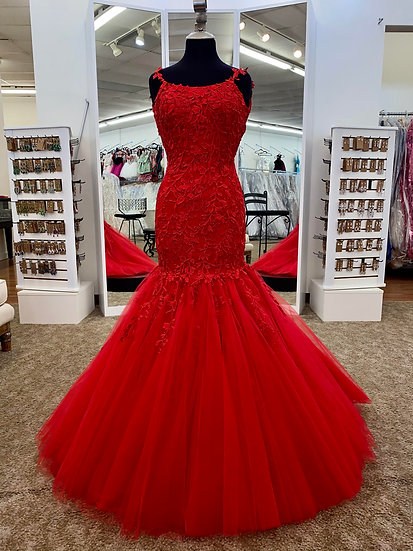 Sherri Hill 53826 Red