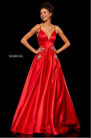 Sherri Hill 52629 Red