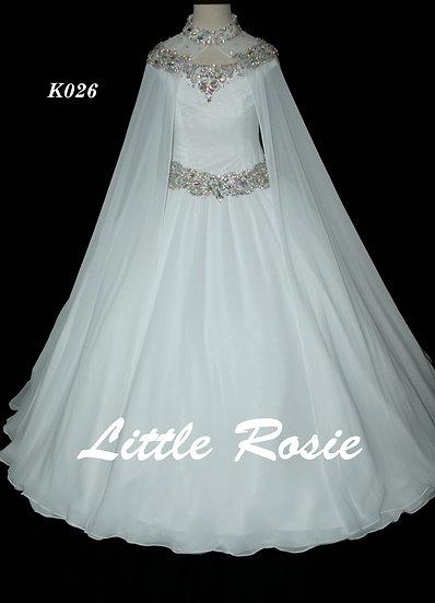 Little Rosie K026 White