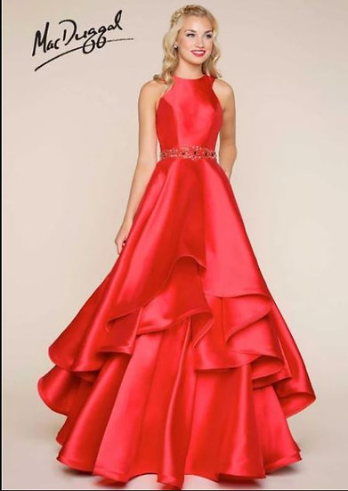 Mac Duggal 65814 Red
