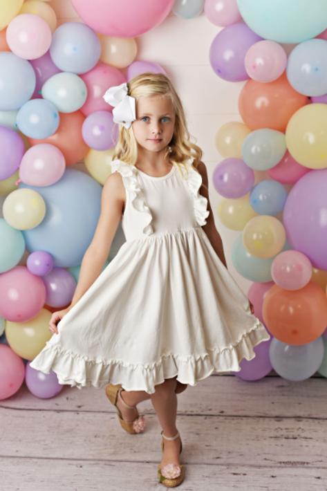 Swoon Baby White Bella Essentials Dress