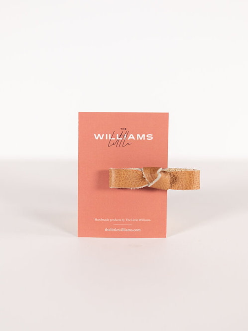 The Little Williams Eden Caramel Knot Bow