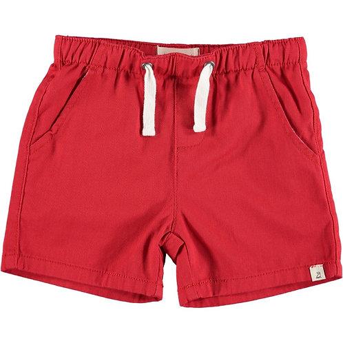 Me & Henry Hugo Twill Shorts Red