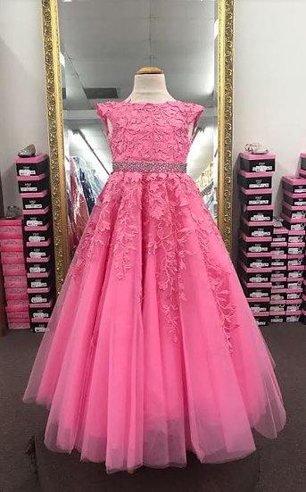 Sherri Hill K53850 Bright Pink