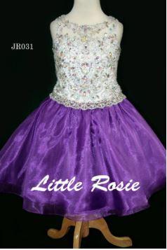 Little Rosie JR031 White/Purple