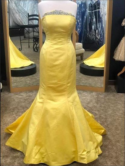 Sherri Hill 53321 Yellow