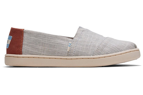 TOMS Classic Drizzle Grey Cross Hatch