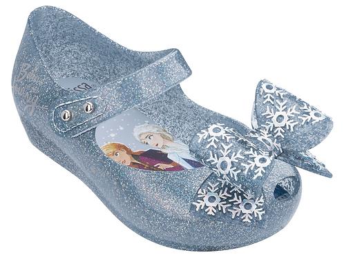 Mini Melissa Ultragirl + Frozen Silver Glitter