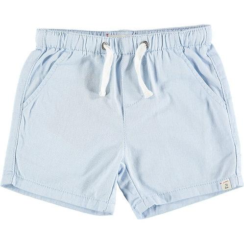 Me & Henry Hugo Twill Shorts Pale Blue