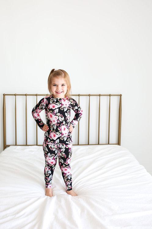 Posh Peanut Milana Long Sleeve Basic Loungewear