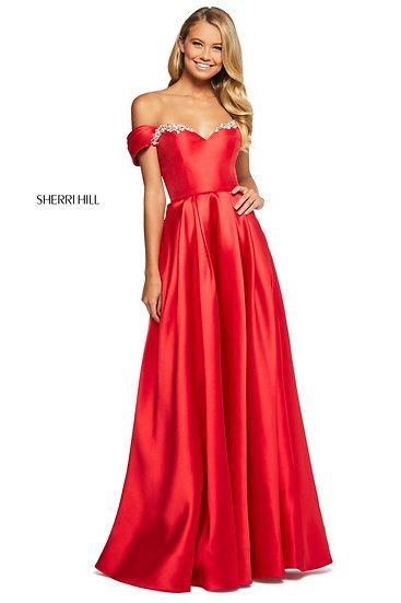 Sherri Hill 53399 Red