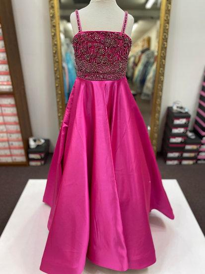 Sherri Hill K54361 Bright Pink/Multi