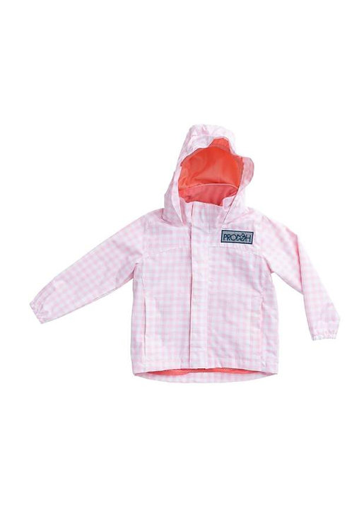 Prodoh Girl's Water and Wind Reflective Jacket Ballerina
