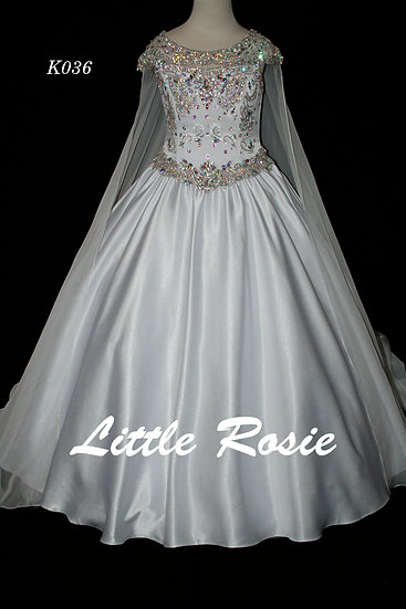 Little Rosie K036 White