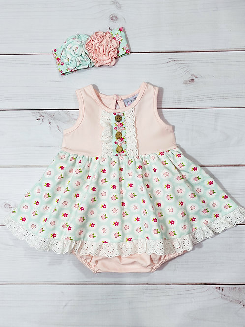 Serendipity Sweet Pea Bubble Dress