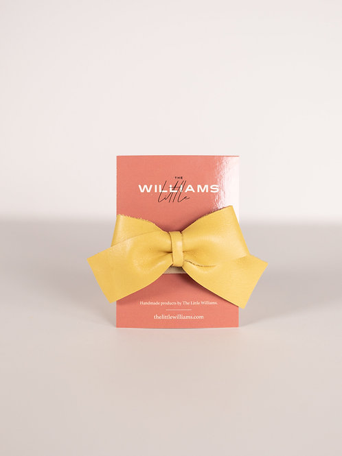 The Little Williams Elliot Yellow Bow