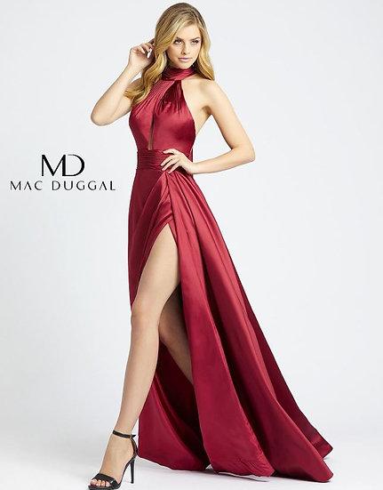 Mac Duggal 12089 Burgundy