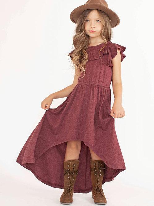 Joyfolie Nyla Dress Heather Burgundy
