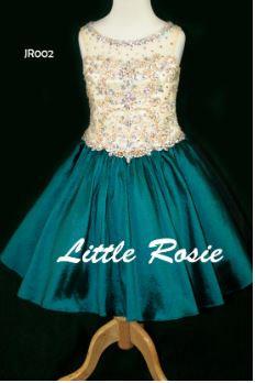Little Rosie JR002 Gold/Peacock