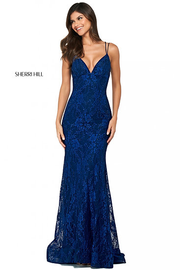 Sherri Hill 53364 Navy