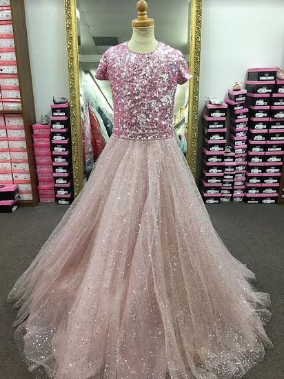 Sherri Hill K53291 Light Pink