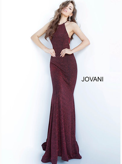 Jovani 03055A Black Red