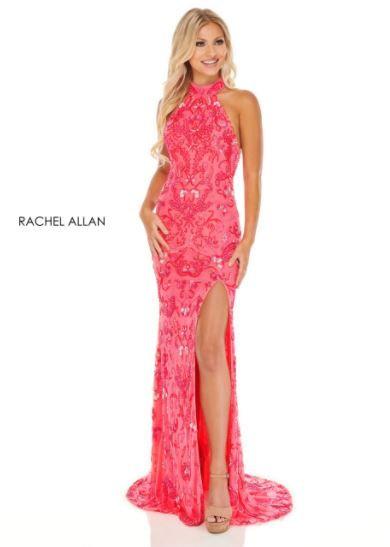 Rachel Allan 70000 Neon Pink Coral