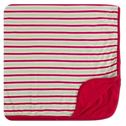 Print Toddler Blanket 2020 Candy Cane Stripe