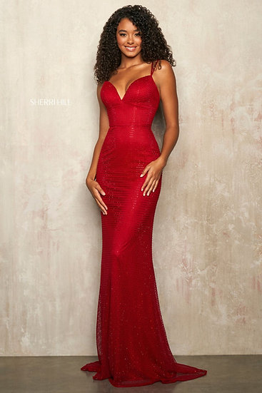 Sherri Hill 54169 Red