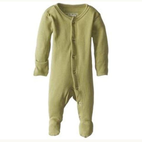 L'ovedbaby Footed Overall Sage