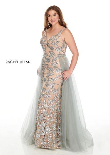 Rachel Allan 7228 Blue/Nude