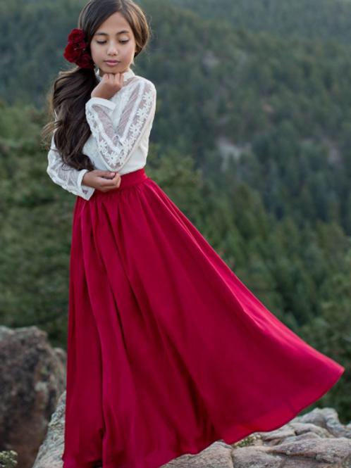Joyfolie Reine Crimson Skirt