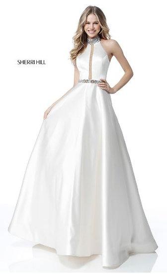 Sherri Hill 51589 Ivory