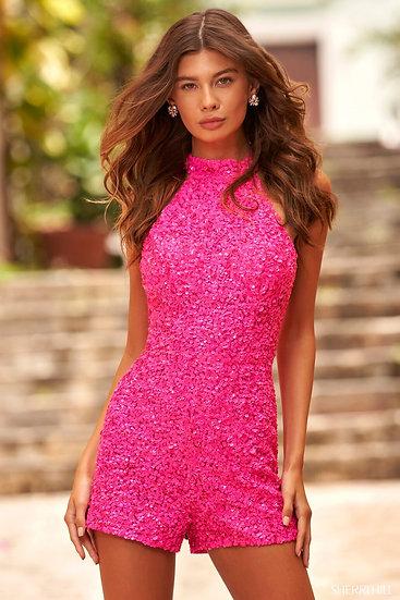 Sherri Hill 54445 Neon Pink