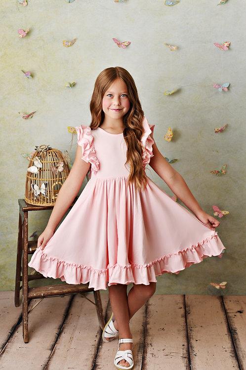 Serendipity Bella Pocket Dress Blush Pink