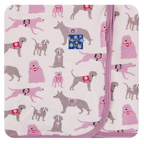 Print Swaddling Blanket Macaroon Canine First Responders