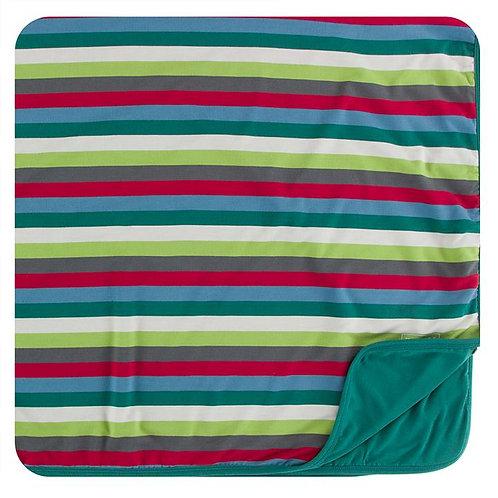 Print Toddler Blanket 2020 Multi Stripe