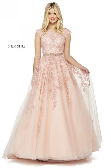 Sherri Hill 53356 Blush