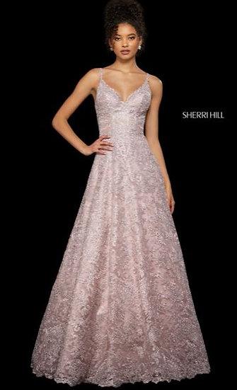 Sherri Hill 53250 Blush
