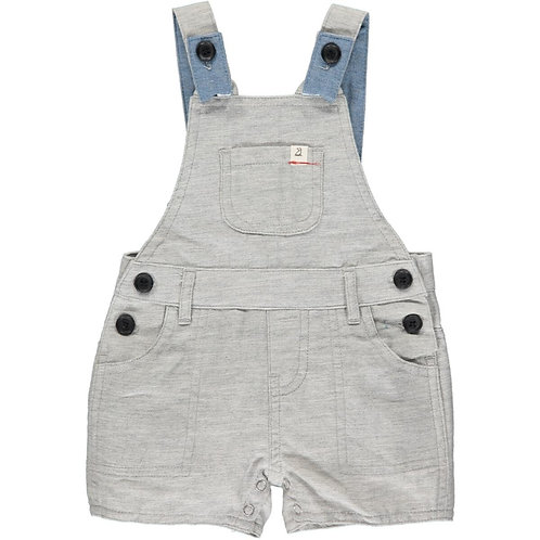 Me & Henry Bowline Shortie Overall Pale Grey