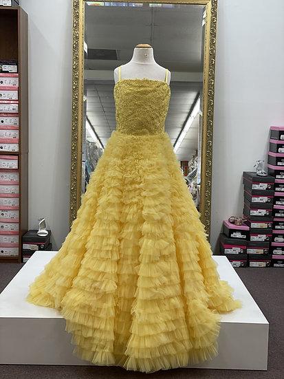 Sherri Hill K54362 Yellow
