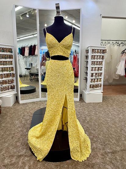Sherri Hill 53448 Yellow