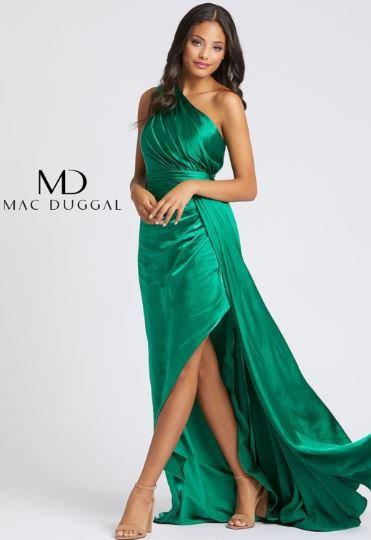 Mac Duggal 49006 Emerald Green