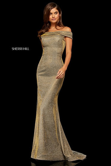 Sherri Hill 52825 Electric Gold