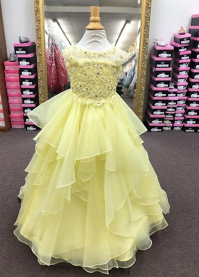 Sherri Hill K53864 Yellow