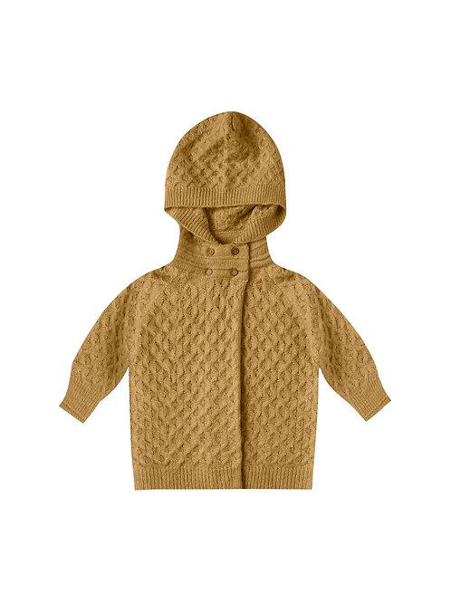 Rylee + Cru Baby Sweater Goldenrod Honeycomb