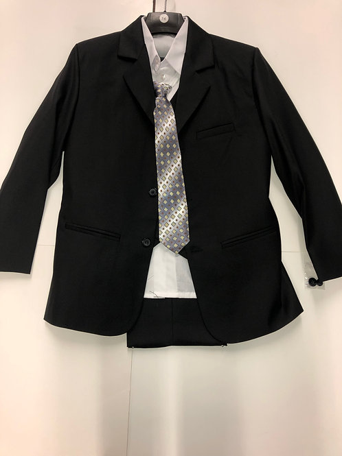 Lito Childrens Wear 5 Piece Suit Black