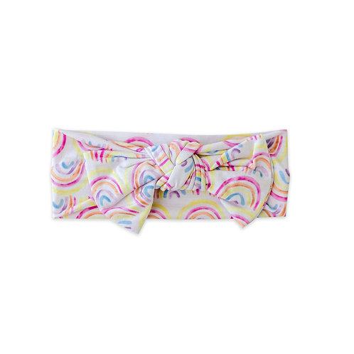 Little Sleepies Pastel Rainbows Infant Gown