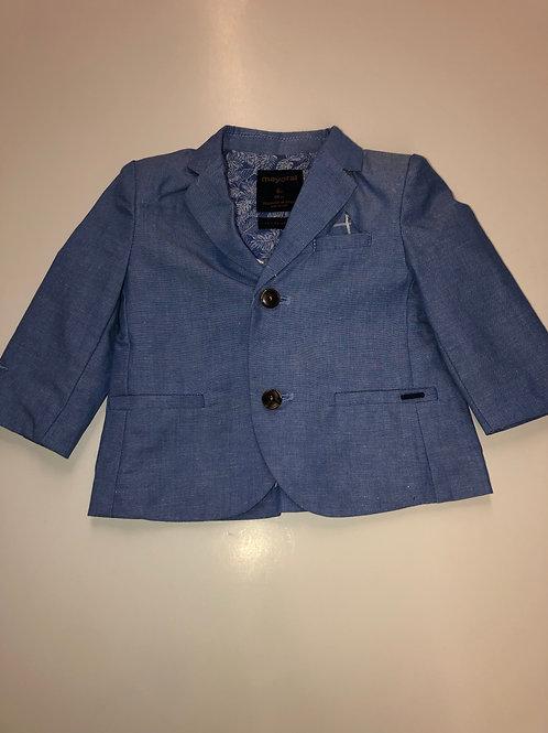 Mayoral Dressy Jacket Light Blue