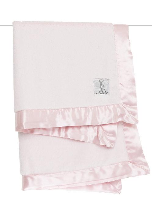 Little Giraffe Luxe Blanket Pink
